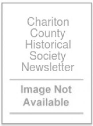 Chariton County Historical Society Newsletter 1/2014