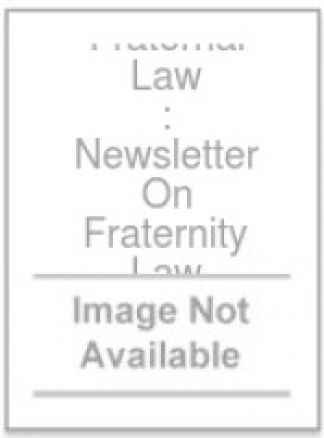 Fraternal Law : Newsletter On Fraternity Law 1/2014