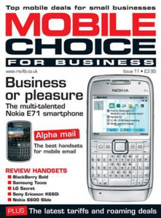 Mobile Choice for Business 1/2014