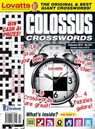 Lovatts Colossus Crosswords 1/2014