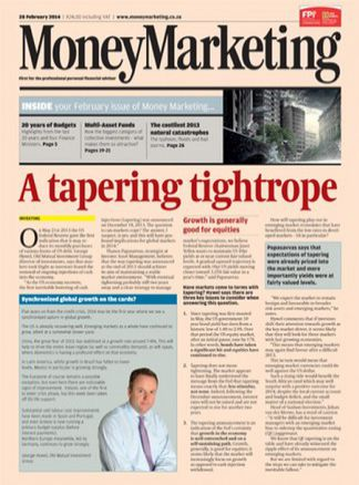 Money Marketing 1/2014
