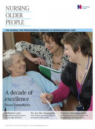 Nursing Older People 1/2014