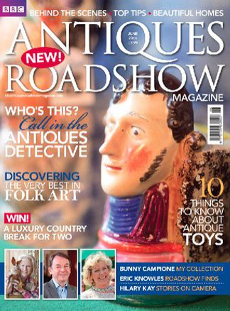 BBC Antiques Roadshow magazine 1/2014
