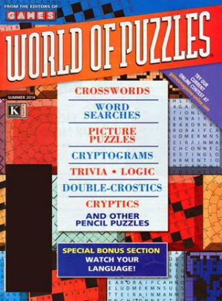 Games World of Puzzles 3/2014