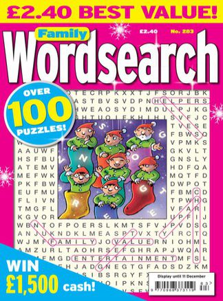 Family Wordsearch 2/2014