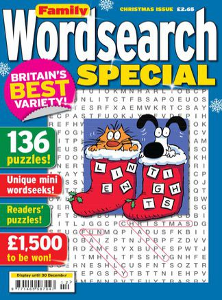 Family Wordsearch Special 2/2014