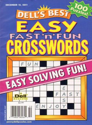 Dell Easy Fast 'n Fun Crosswords 2/2014