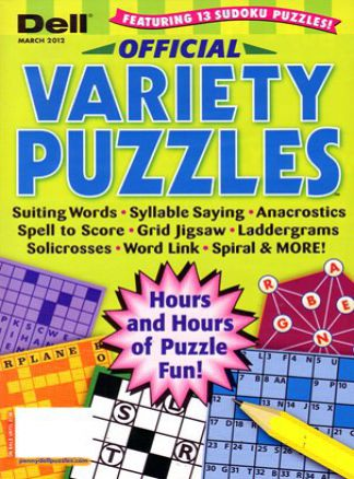 Dell Official Variety Puzzles & Word Games 2/2014