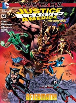 Justice League of America (comic) 3/2014