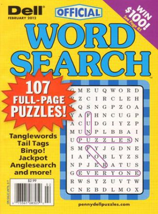 Official Word Search Puzzles Magazine  2/2014