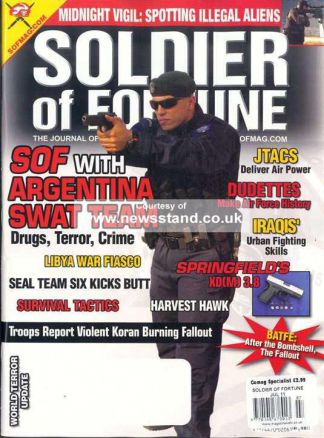 Soldier Of Fortune 1/2015