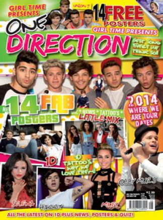Girl Time presents One Direction Issue 8 1/2015