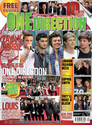 Girl Time presents One Direction Issue 9 1/2015