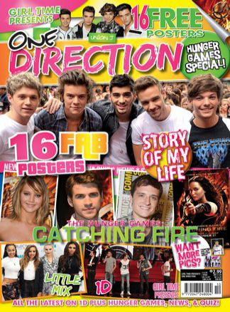 Girl Time Presents One Direction & The Hunger Games Issue 10 1/2015