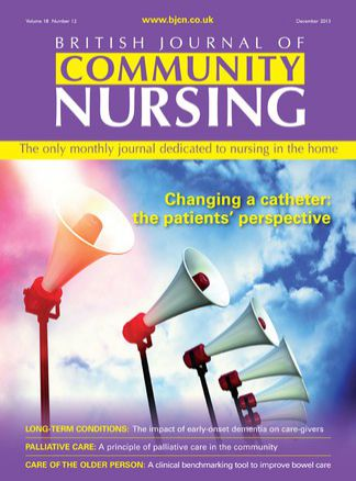 British Journal of Community Nursing 1/2015