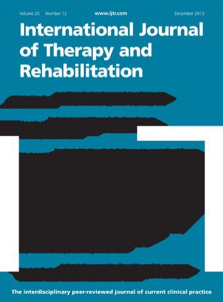 International Journal of Therapy and Rehabilitation 1/2015