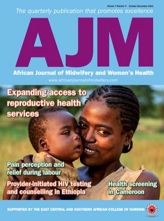 African Journal of Midwifery and Woman's Health 1/2015