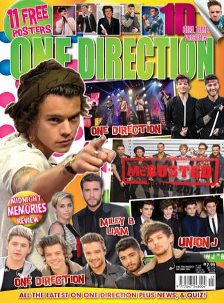 Girl Time Presents One Direction 11 1/2015