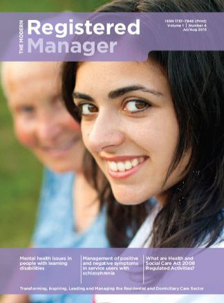 The Modern Registered Manager 1/2015