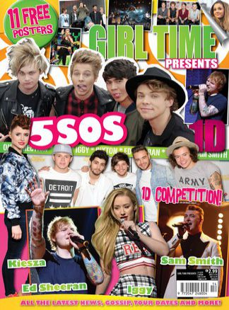 Girl Time presents One Direction 14 1/2015