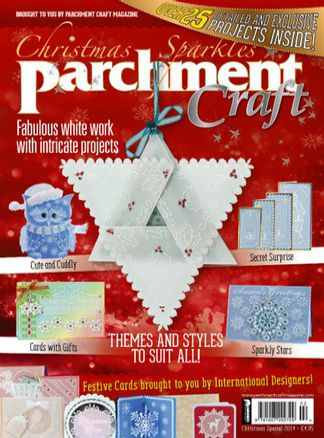 Parchment Craft Christmas Sparkles 1/2015