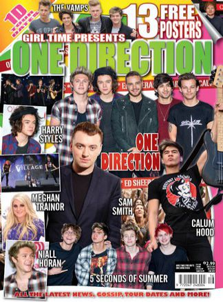Girl Time Presents One Direction issue 16 1/2015