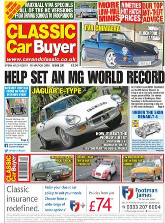 Classic Car Buyer 1/2015