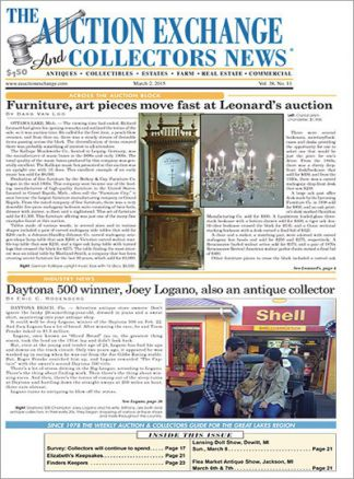 Auction Exchange & Collectors News 1/2015