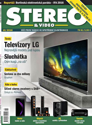 Stereo & Video  10/2016