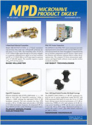 Microwave Product Digest 1/2015
