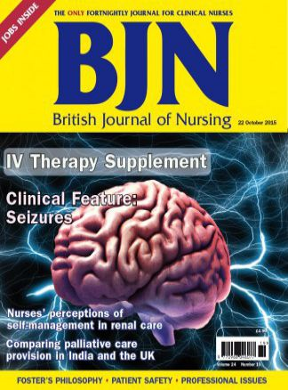 British Journal of Nursing 1/2016