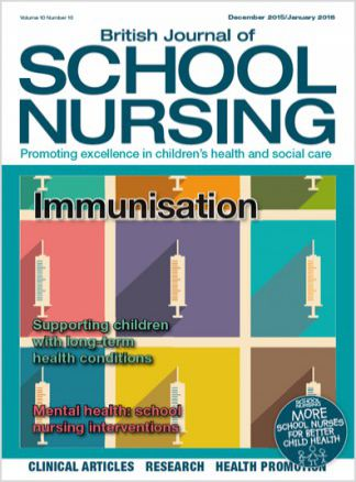 British Journal of School Nursing 1/2016