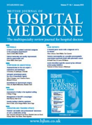 British Journal of Hospital Medicine 1/2016