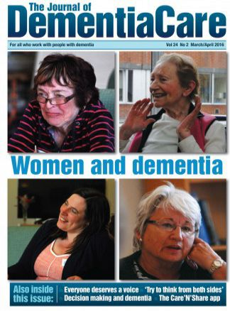 The Journal of Dementia Care 1/2016