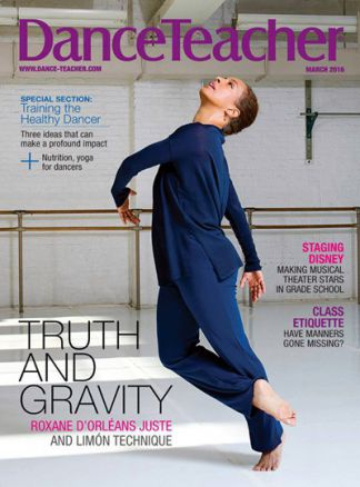 Dance Teacher 1/2016