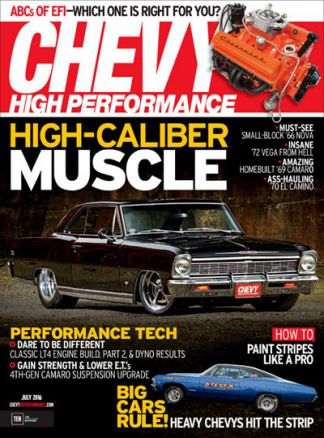 Chevy High Performance 1/2016