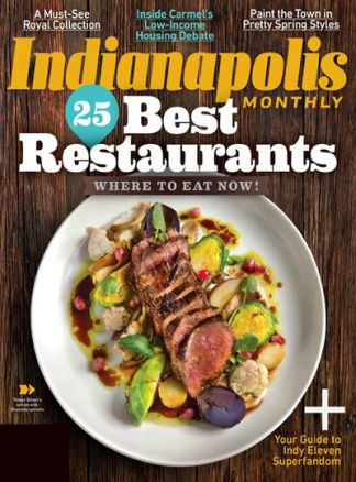Indianapolis Monthly 1/2016