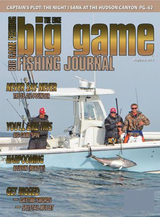Big Game Fishing Journal 1/2016