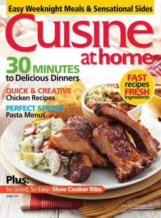 Cuisine At Home 1/2016