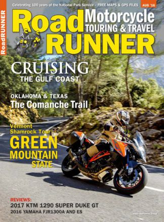 Roadrunner Motorcycle Cruising&Tour 1/2016