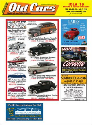 Old Cars Weekly 3/2016