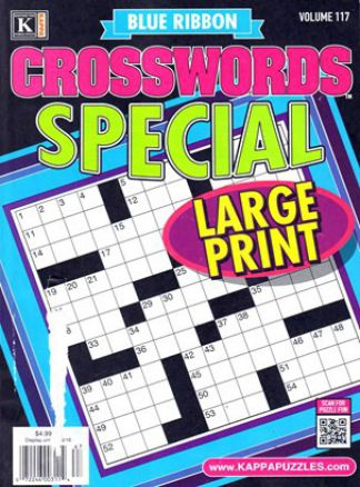 Blue Ribbon Crosswords Special 4/2016