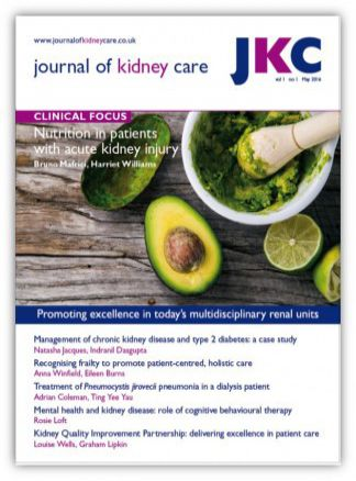 Journal of Renal Nursing 1/2016