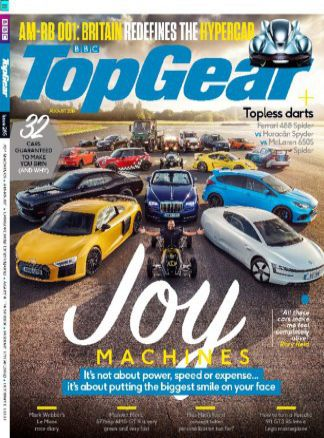 BBC Top Gear 8/2016