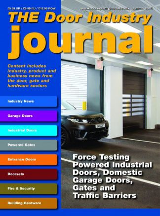 The Door Industry Journal 1/2016