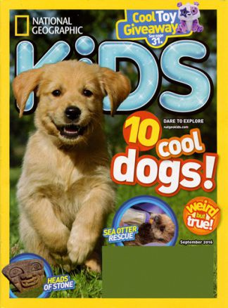 National Geographic Kids  5/2016