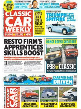 Classic Car Weekly 1/2016