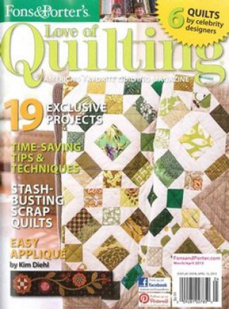 Love of Quilting 1/2016