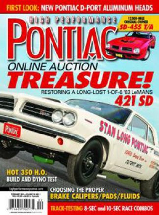High Performance Pontiac 1/2016