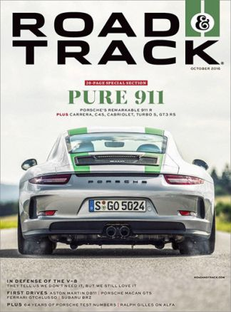 Road and Track 7/2016